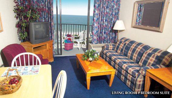 Palms Resort Myrtle Beach Oceanfront Resort With Spacious Accommodations